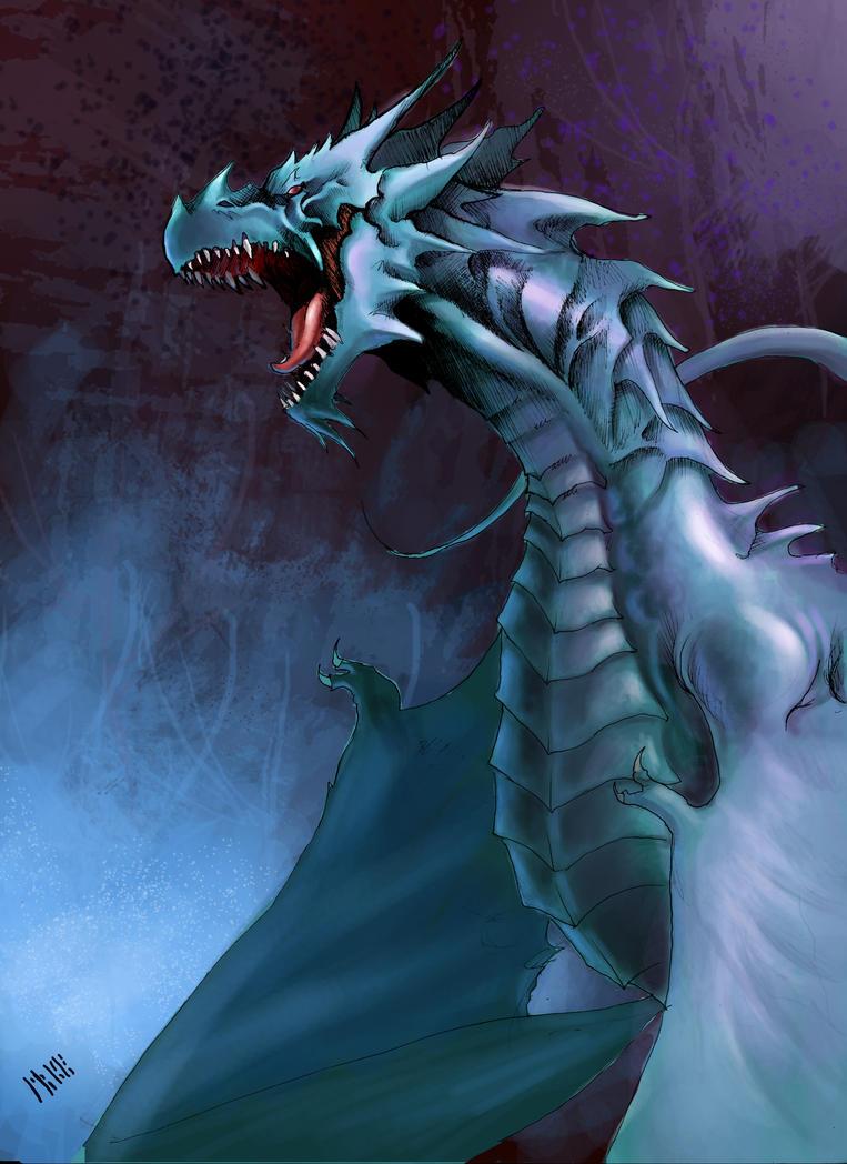 Dragon I by MikeAzevedo