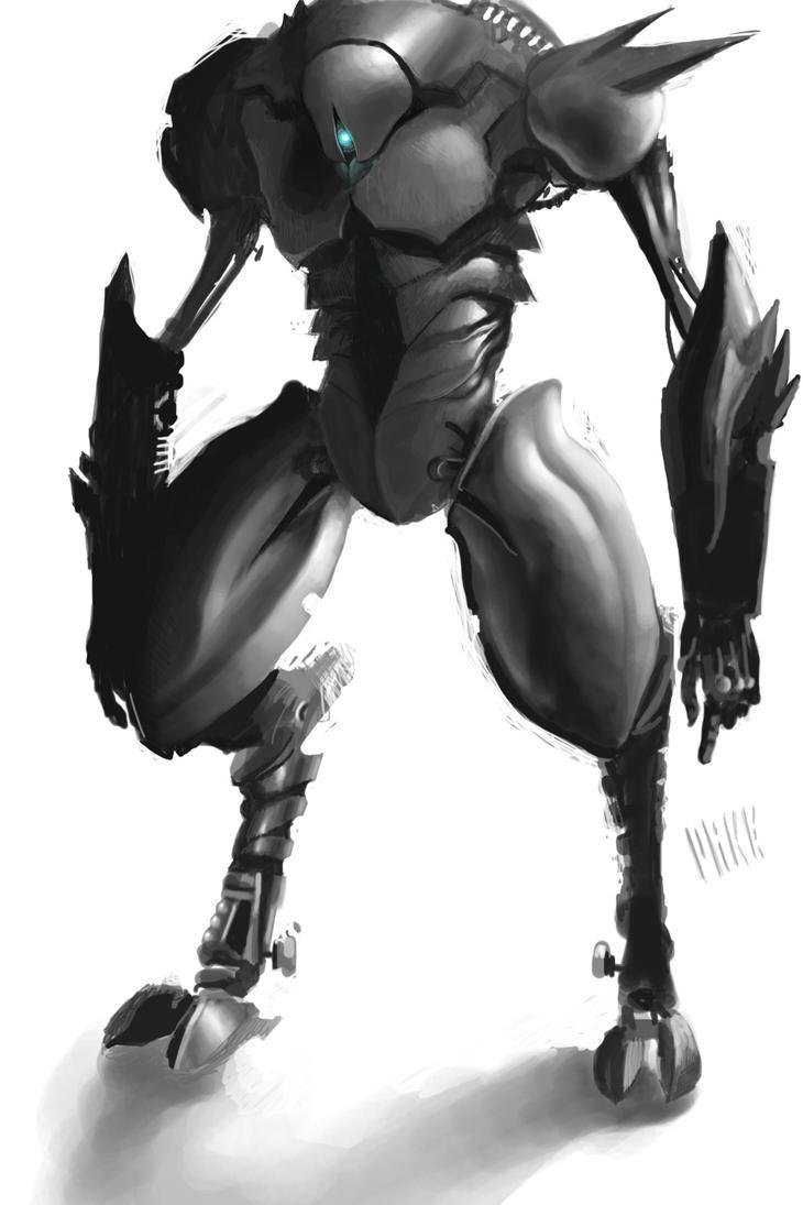 Robot V by MikeAzevedo
