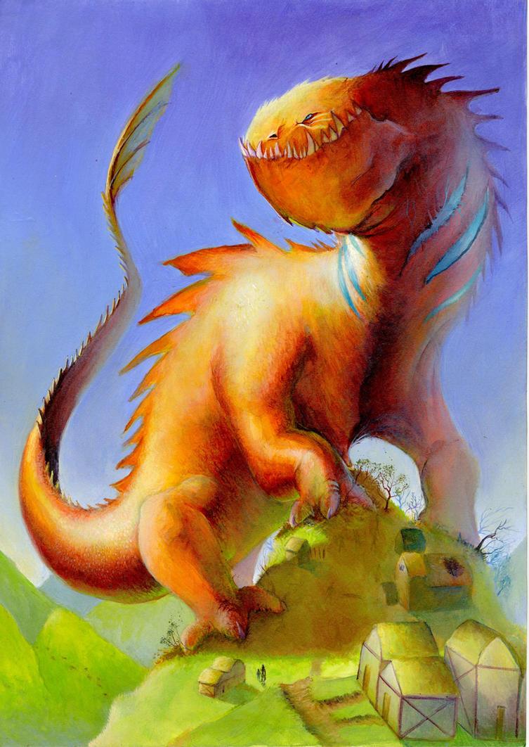 Dragon-Portfolio I by MikeAzevedo