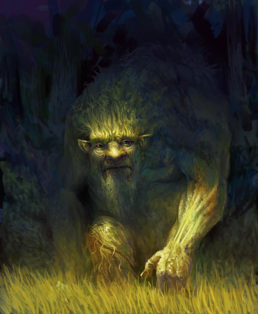 Forest spirit by MikeAzevedo