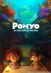 Ponyo Poster by MikeAzevedo