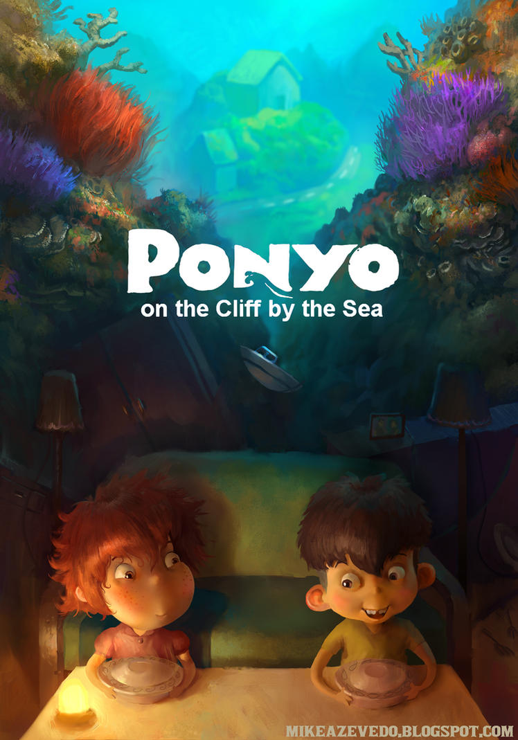 Ponyo Poster by MikeAzevedo on DeviantArt