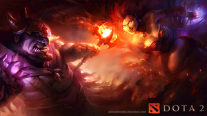Lina vs Lion