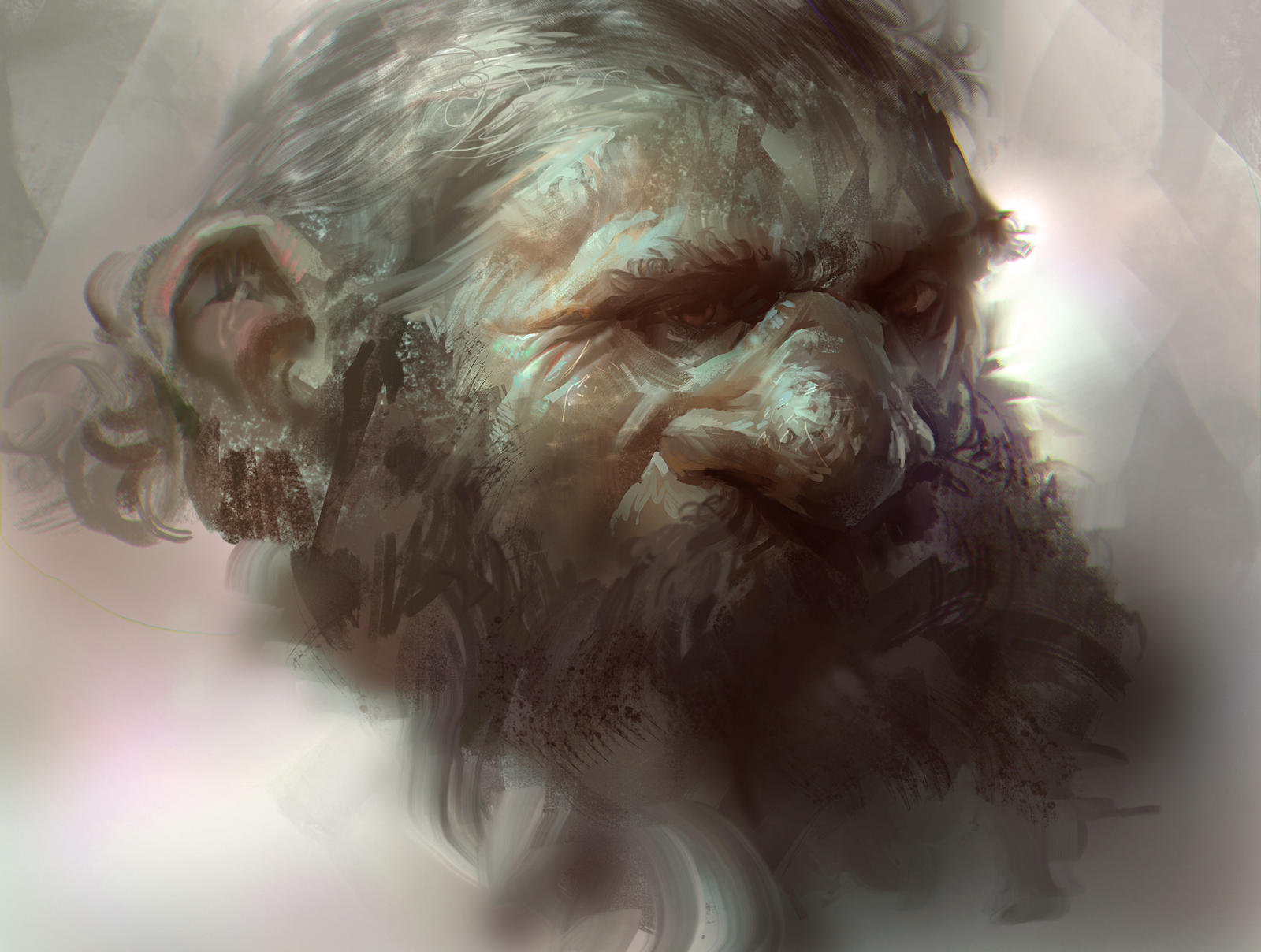 Dwarf head by MikeAzevedo