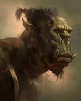 Orc head sketch