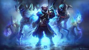 Dota 2 Blue Team by MikeAzevedo