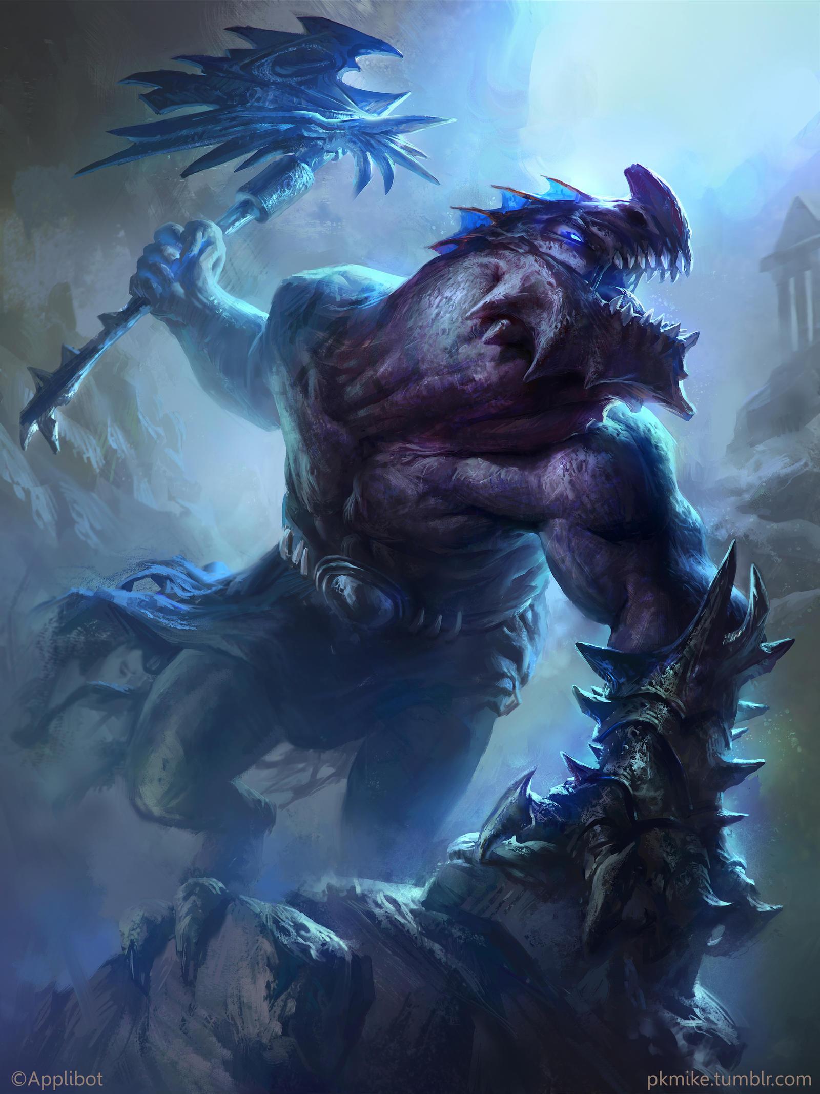 The dragon tribe God (Advanced)