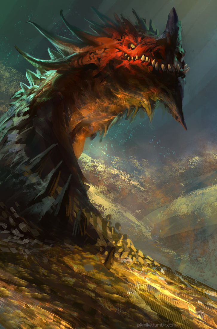 Smaug by MikeAzevedo