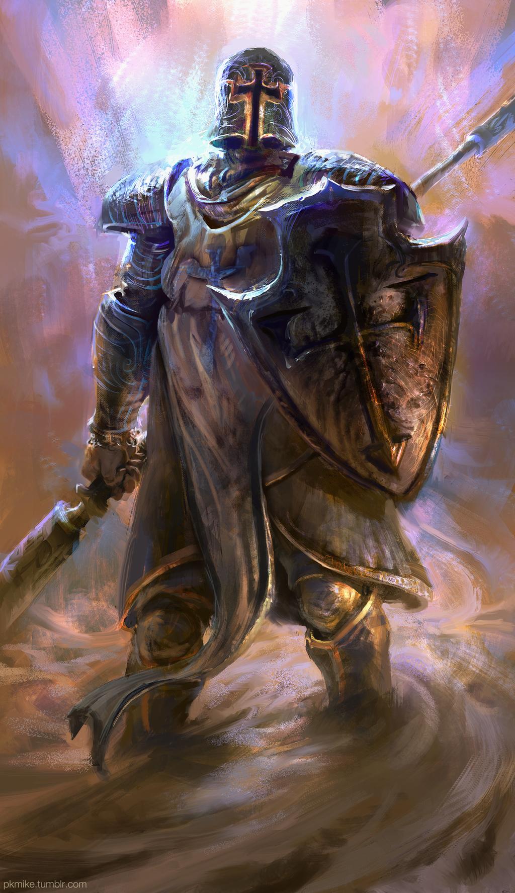 Crusader, Diablo 3 by MikeAzevedo
