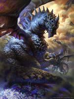 Sivan, the devil eating dragon