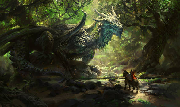 Joseph, the Ancient  forest dragon