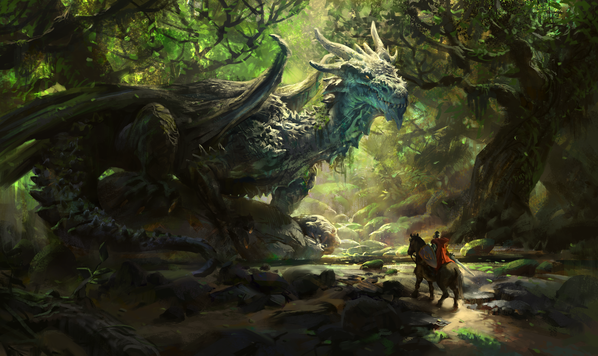 Joseph The Ancient Forest Dragon By MikeAzevedo On DeviantArt