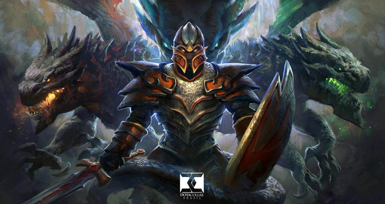 Dragon Knight Dota  By Mikeazevedo