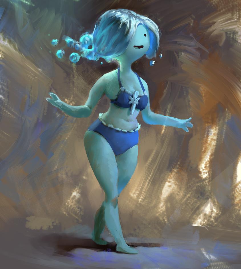 Kirana larasati bikini
