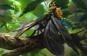 Warrior Fairy by MikeAzevedo