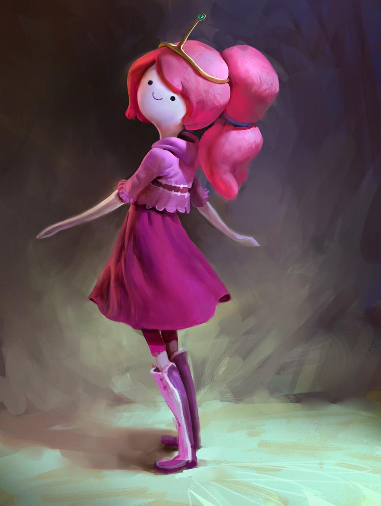 Princess Bubblegum by MikeAzevedo