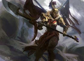 Legion Commander (with video process) DOTA 2 by MikeAzevedo