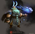 Zeus (Dota 2) redesign