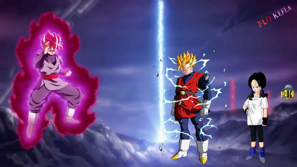 Dragon Ball Super Black Goku by shota71