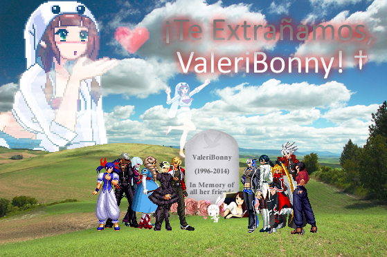 We miss you, ValeriBonny (1st Luctuous Year) by RockHowardMX