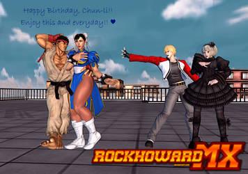 Happy Birthday, Chun-li!!