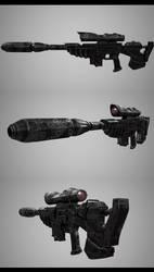 Sarah Kerrigan's Rifle by Haruyuki86