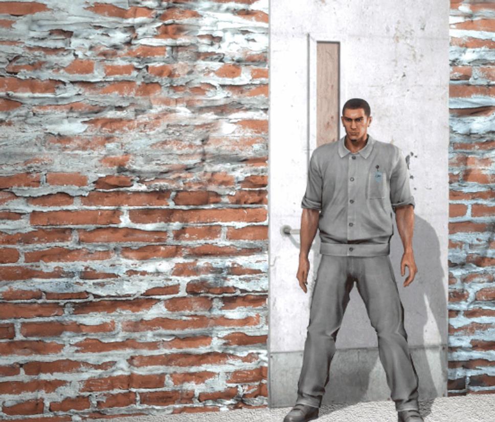 & kiryu kicks a door open by dwg4184 on DeviantArt