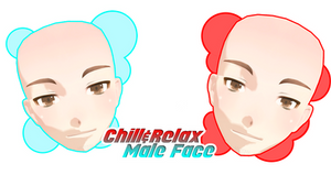 [MMD +DL] CHILL RELAX MALE FACE