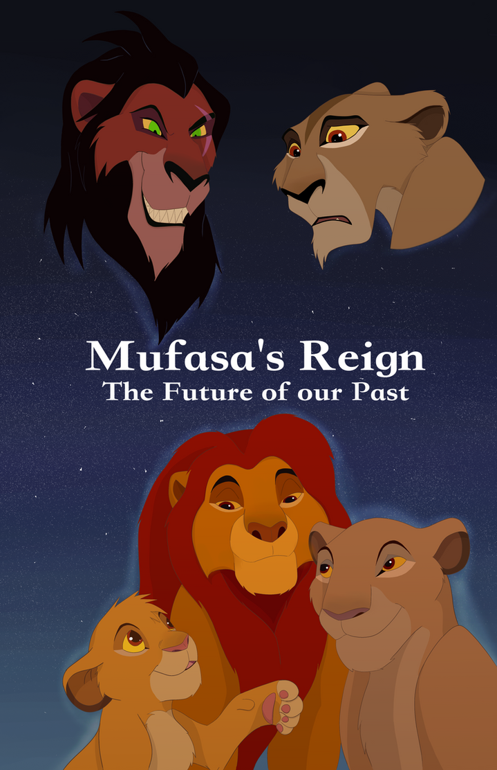 Mufasa's Reign Cover - Contest Entry by Paint-Puff