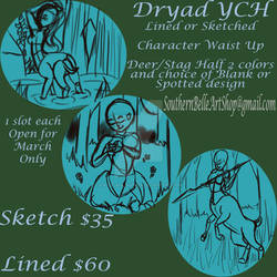 Dryad YCH Commissions OPEN