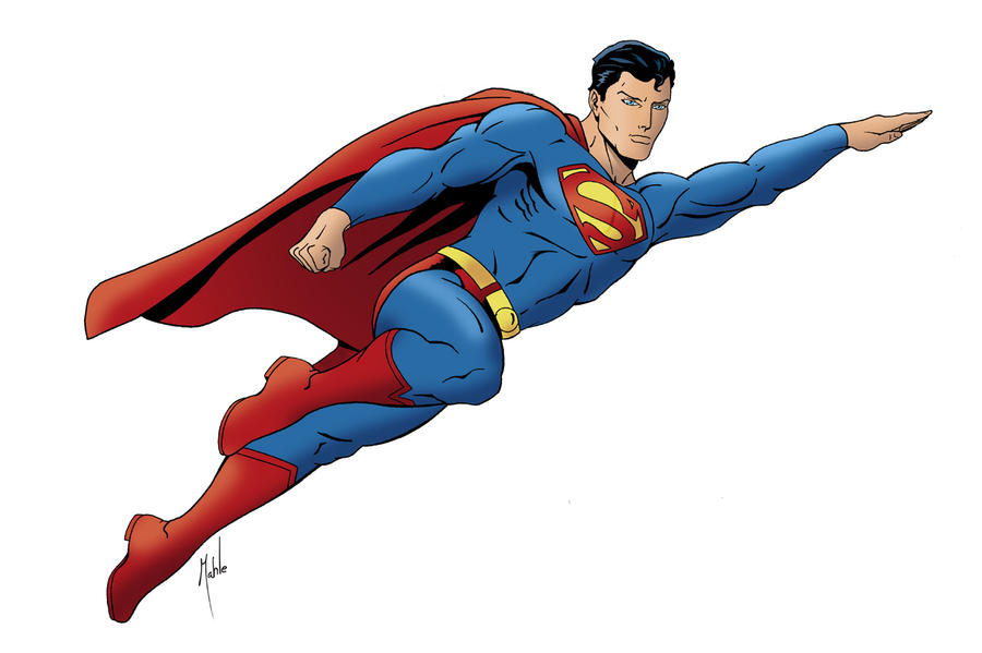 clipart superman flying - photo #22