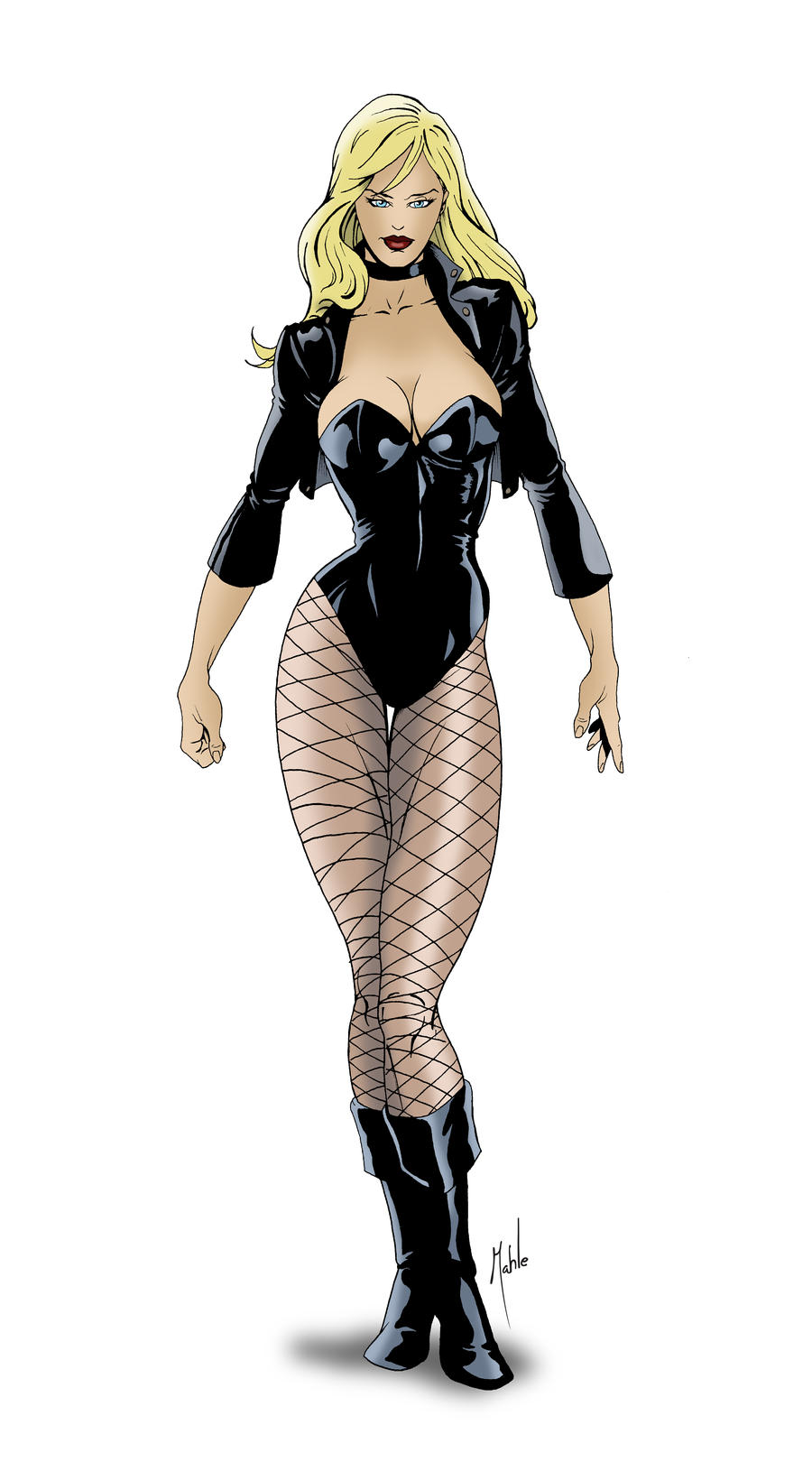 Black Canary by MikeMahle