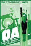 Green Lantern OA travel poster