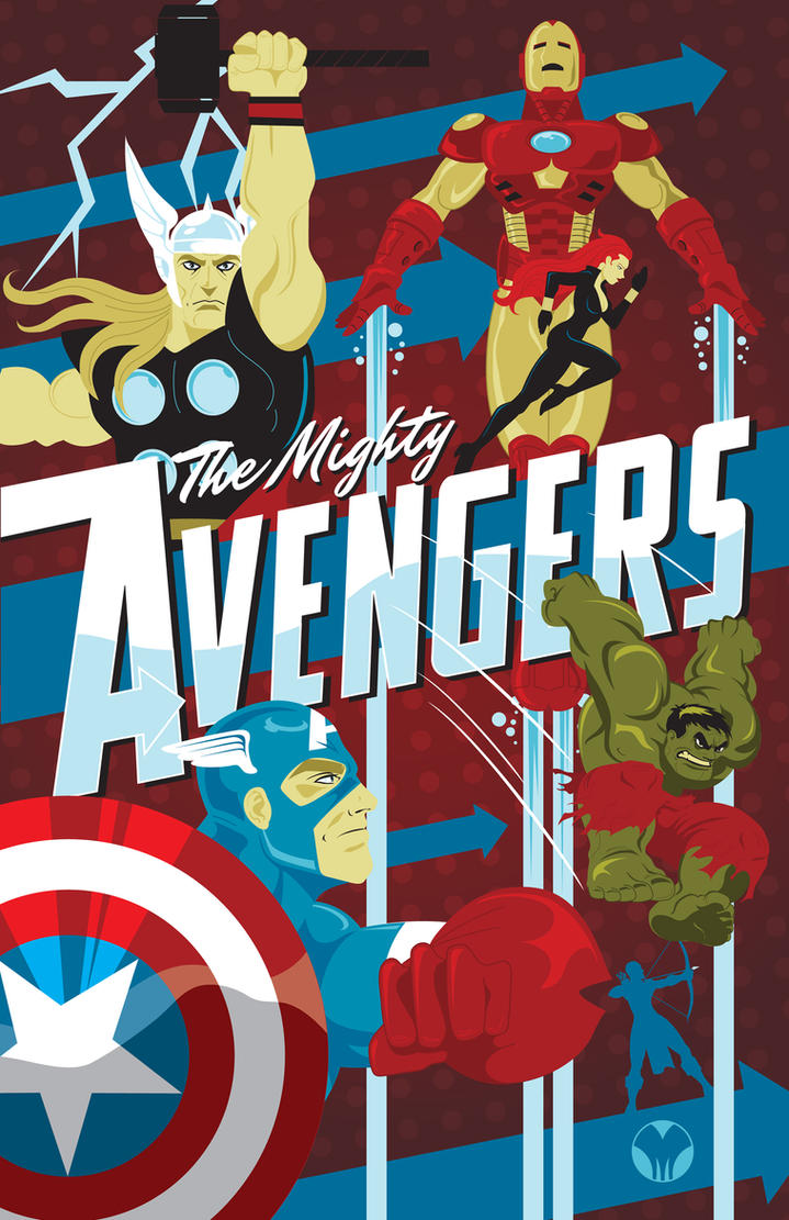 The Avengers by MikeMahle