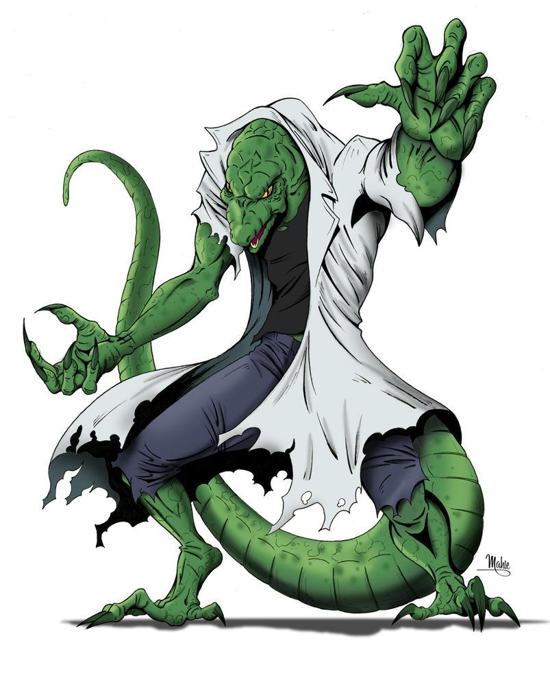 The Lizard by MikeMahle on DeviantArt
