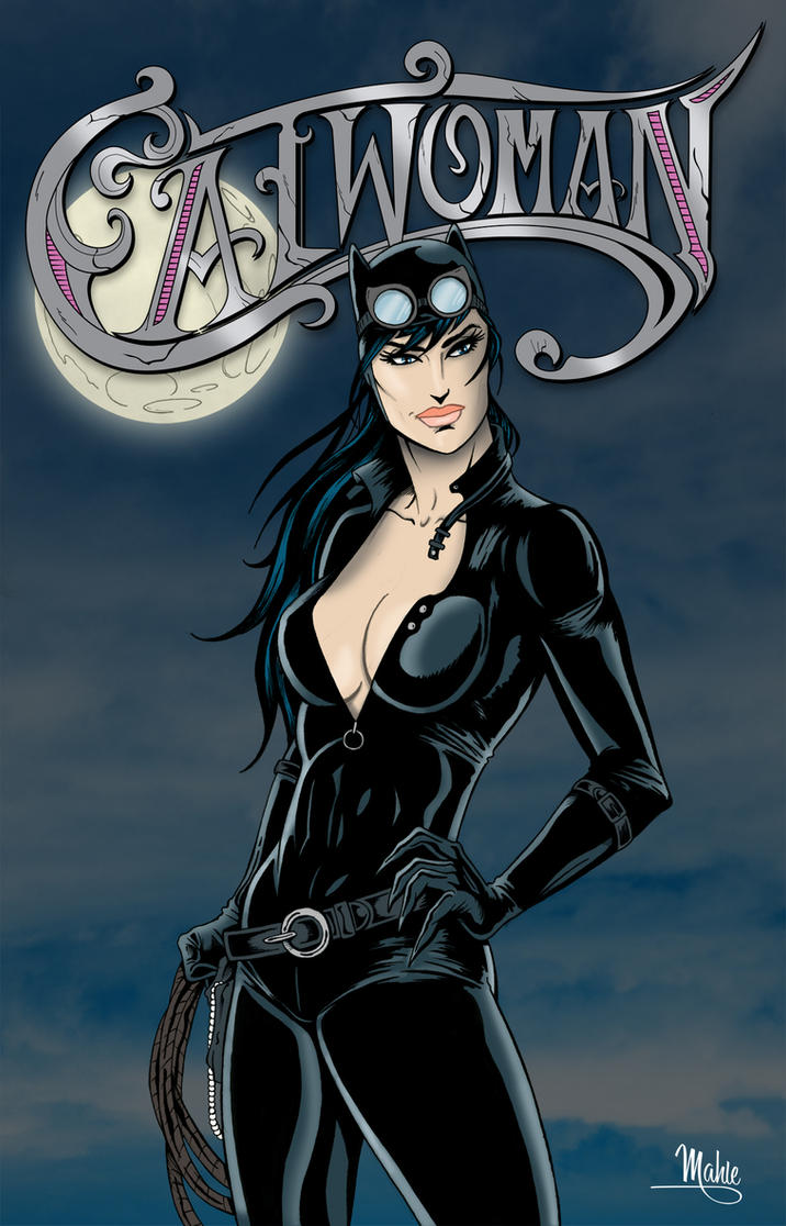 Catwoman by MikeMahle