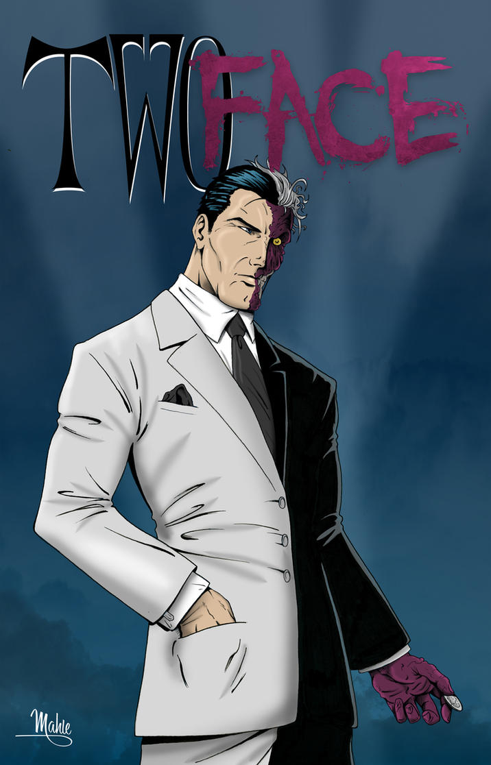 Two Face Harvey Dent: Two Face By MikeMahle On DeviantArt