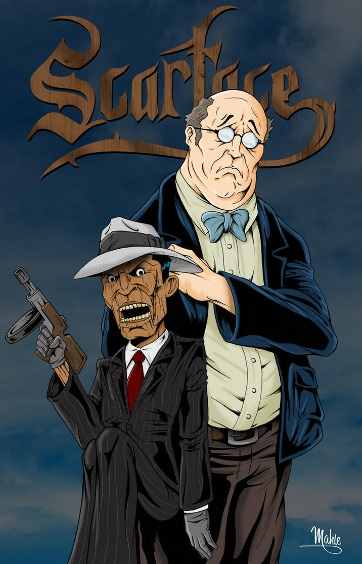 Scarface by mikemahle on deviantart - Scarface cartoon wallpaper ...