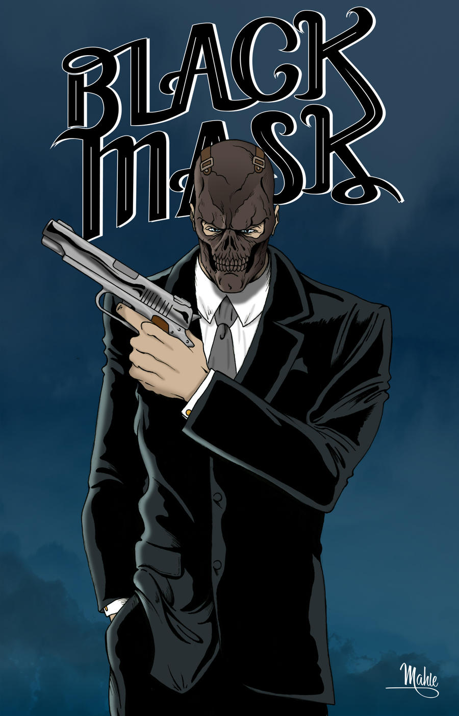 Black Mask by MikeMahle