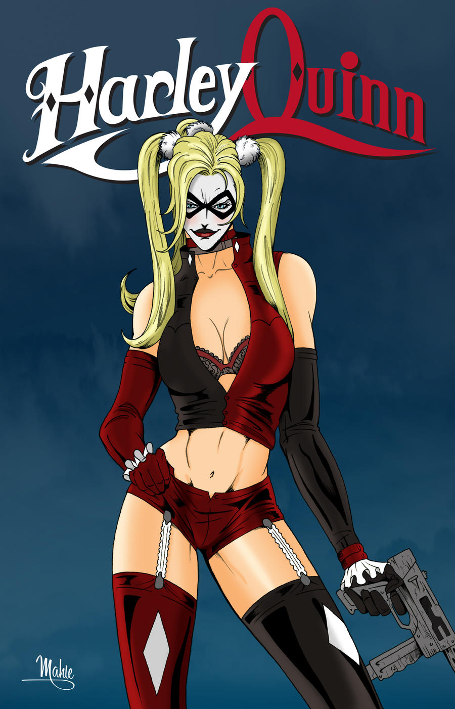 Harley Quinn by MikeMahle