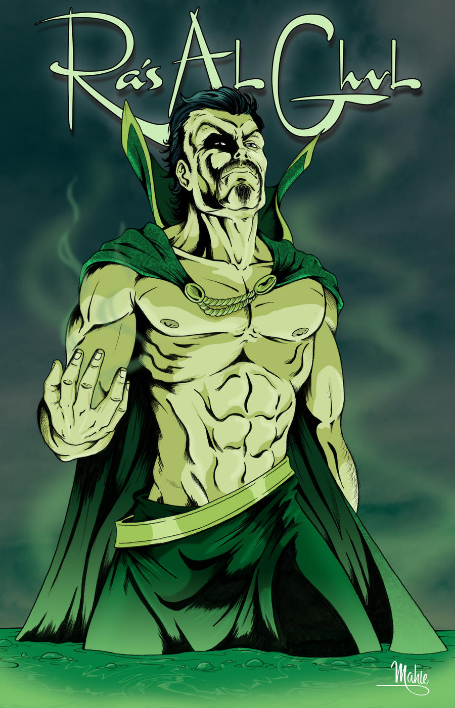 Ra's Al Ghul by MikeMahle