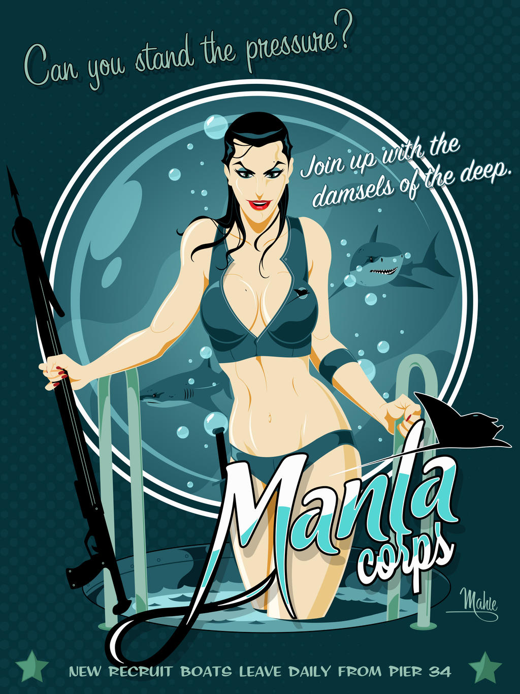 Manta Corps by MikeMahle