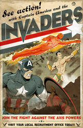 The Invaders by MikeMahle