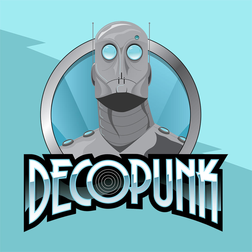 Decopunk logo by MikeMahle