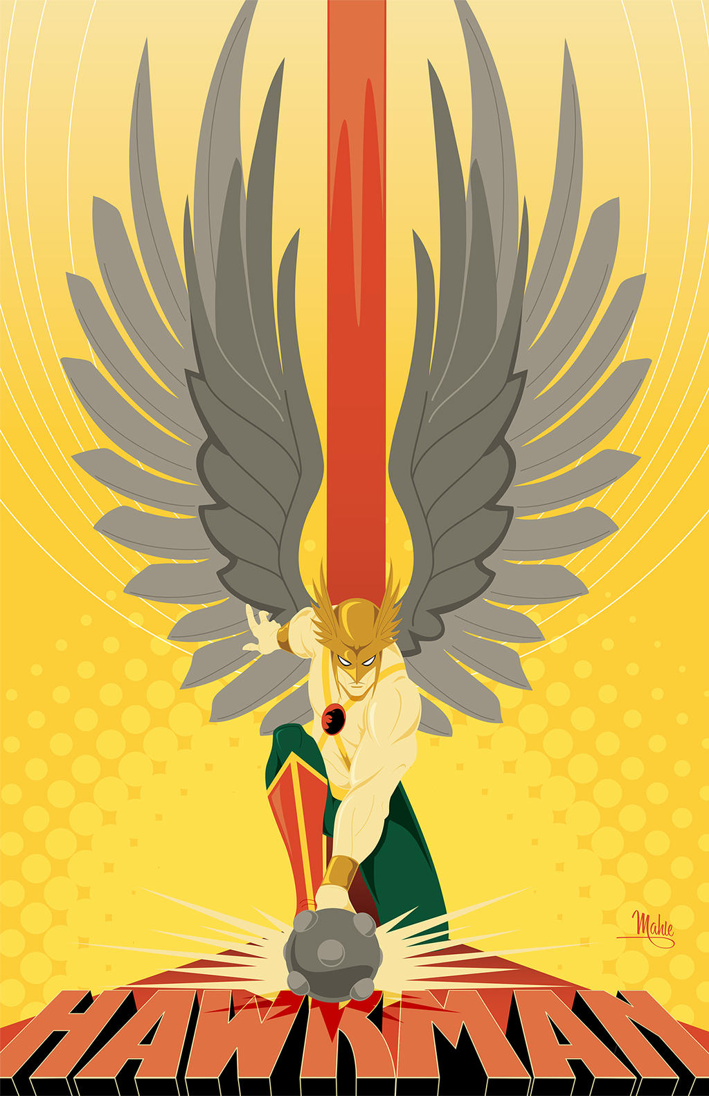 Hawkman by MikeMahle