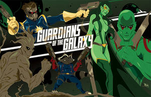 Guardians of the Galaxy by MikeMahle