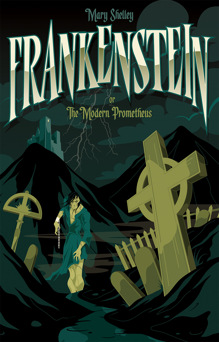 mary shelley frankenstein graphic novel pdf
