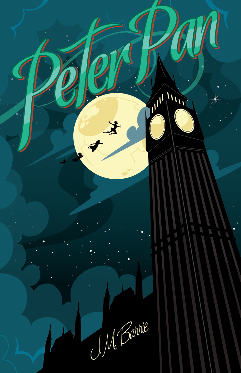 Pretty Book Cover Art : Peter pan by mikemahle on deviantart