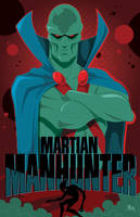 Martian Manhunter by MikeMahle