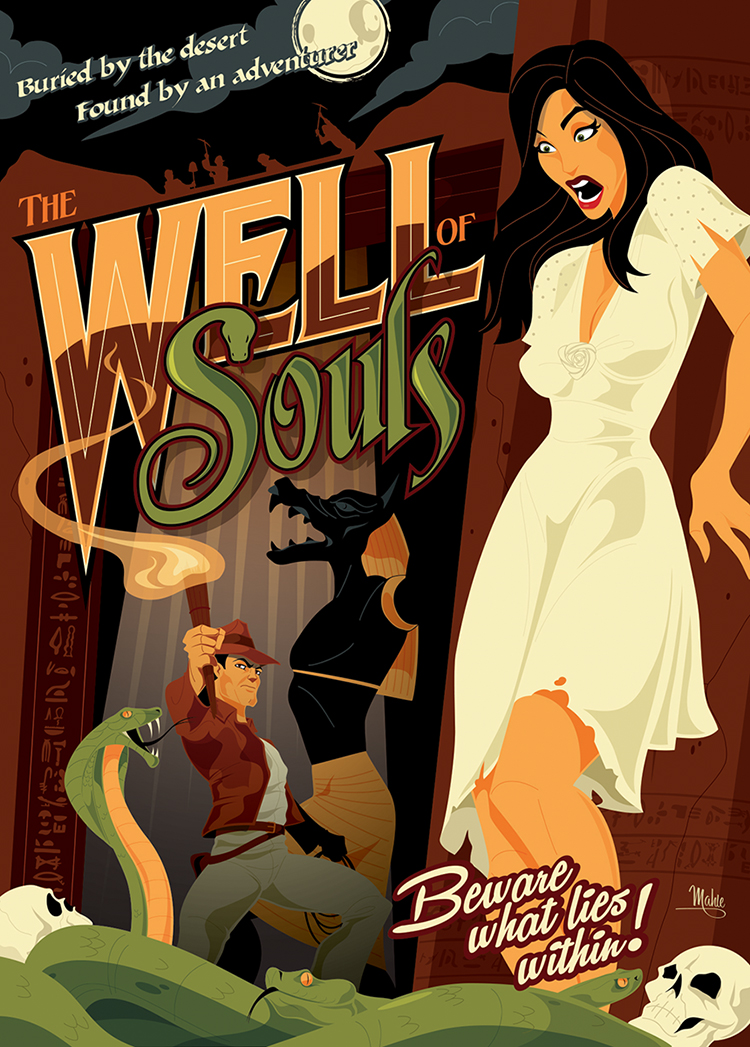 Well of Souls Indiana Jones by MikeMahle